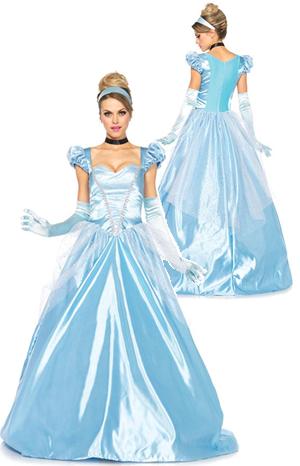コスチューム LLA85518-16B Classic Cinderella Costume Set