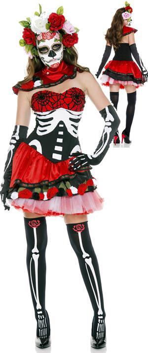 コスチューム LML70626 Miss Muerta Costume