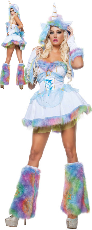 コスチューム LSNS3309 Unicorn Fantasy Costume