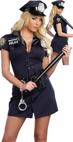 コスチューム LDG9905 Officer Randi Stopsign Female Costume