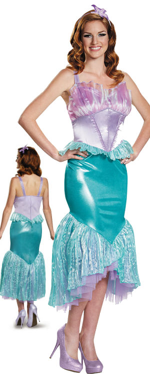 コスチューム LDS85686 Ariel Deluxe Adult Costume