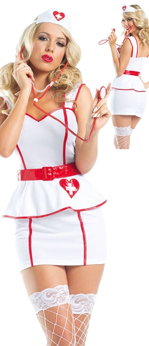 コスチューム LBW1561-221 Personal Care Nurse Costume Set