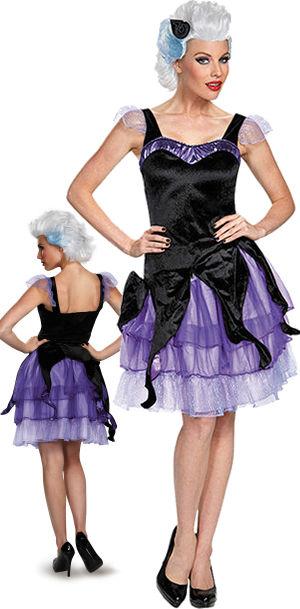 コスチューム LDS85690 Ursula Deluxe Adult Costume