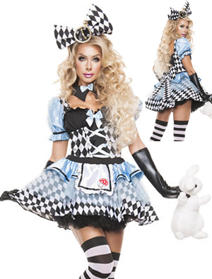コスチューム LSNS5022 Glam Alice Costume