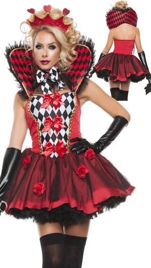 コスチューム LSNS5132 Queen of Roses Costume