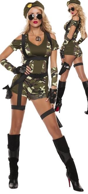コスチューム LSNS5143 Green Beret Costume