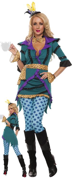 コスチューム LSNS5432 Tea Madness Costume