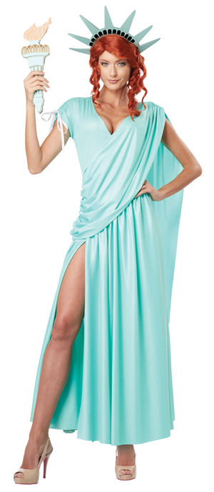 コスチューム LCC01310 Lady Liberty Costume