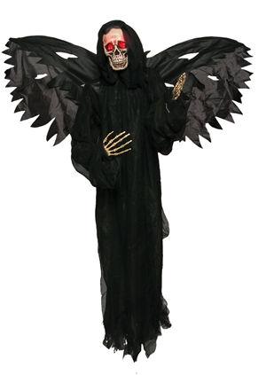 コスチューム LMEMC0141 Black Wing Standing Skeleton