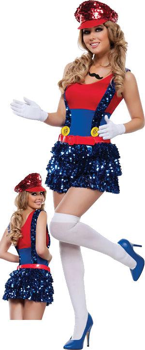 コスチューム LSNS4508 Block Bustin Maria Costume