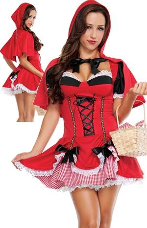 コスチューム LSNS3078 Little Red Costume