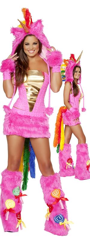 コスチューム LJVJJ161-JJ163 Hot Pink Unicorn Set