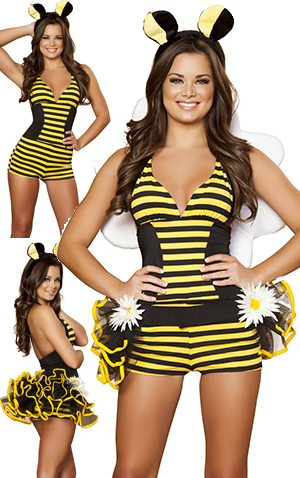 コスチューム LRB4417 3pc Bumble Bee Babe Costume