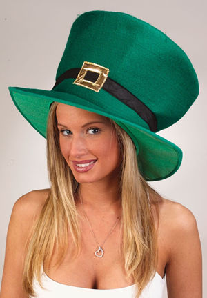 コスチューム LFU5313 Oversized St. Patrick Day Hat