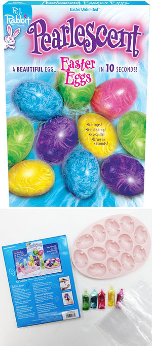 コスチューム LFU1778C Pearlscent Easter Egg Decorating Kit