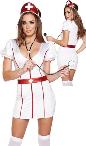 コスチューム LRB4638 4pc Caretaker Cutie Costume