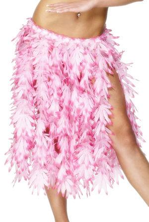 コスチューム LSY28966 Pink Leaf Hawaiian Hula Skirt