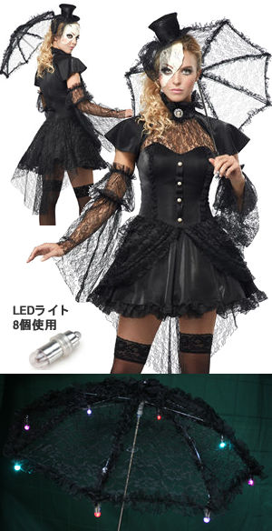 コスチューム LCC01144-PLED PlusLED Victorian Doll Costume