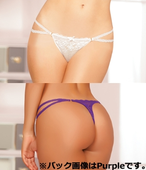 輸入下着 LST10519 Galloon Lace Thong