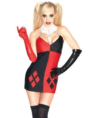コスチューム LRU880687 Super Villans Harley Quinn Costume