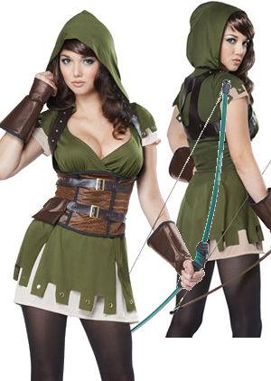 コスチューム LCC01358 Lady Robin Hood Costume