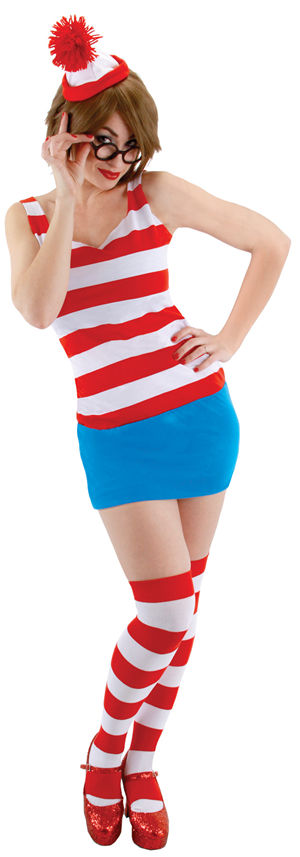 コスチューム LEE402730 Where is Waldo Dress