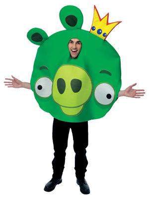 コスチューム LPM751811 Angry Birds King Pig Adult Costume
