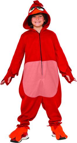 コスチューム LRU620935 ANGRY BIRDS RED Child Costume