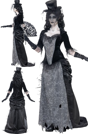 コスチューム LSY24575 Ghost Town Black Widow Costume