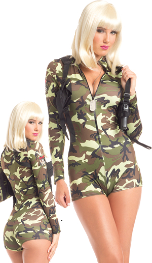 コスチューム LBW1601 Sexy Bandit Costume 2pc Set