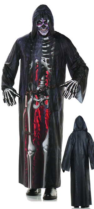 コスチューム LUW28463 Photo Real Robe Grim Reaper