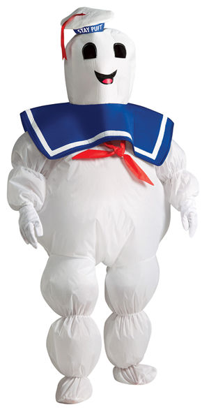 コスチューム LRU884331 Ghostbusters Inflatable Marshmallow Man Child Costume