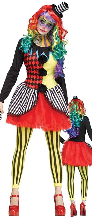 コスチューム LFU115434 Freak Show Clown Costume
