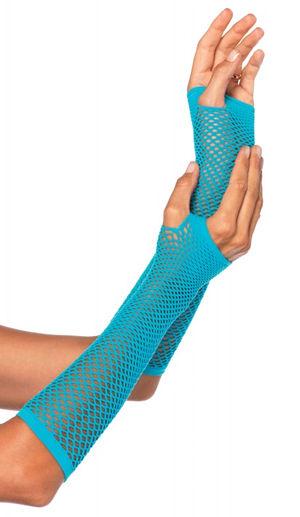 コスチューム LLA2024 Triangle Net Fingerless Gloves