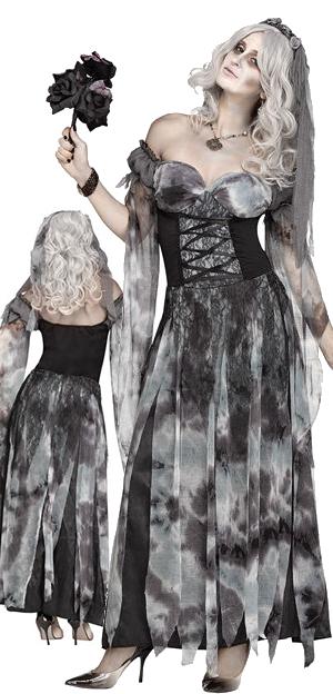 コスチューム LFU124454 Cemetery Bride Costume
