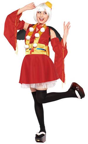 コスチューム JRU95801 The Yo-Kai Tengu for Women