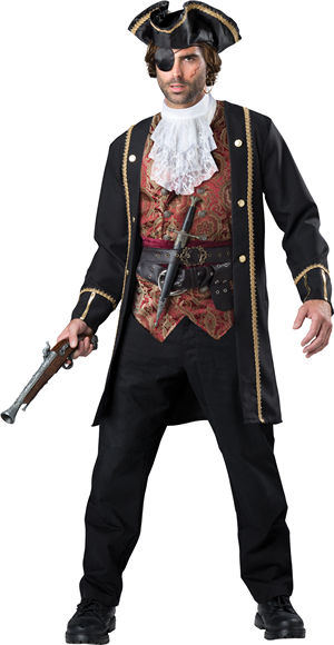 コスチューム LIC11096 Pirate Captain Costume