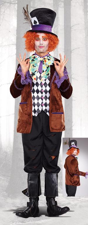 コスチューム LDG10297 Hatter Madness Costume