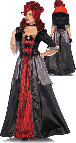 コスチューム LLA85551 Bloody Countess Costume 2pc