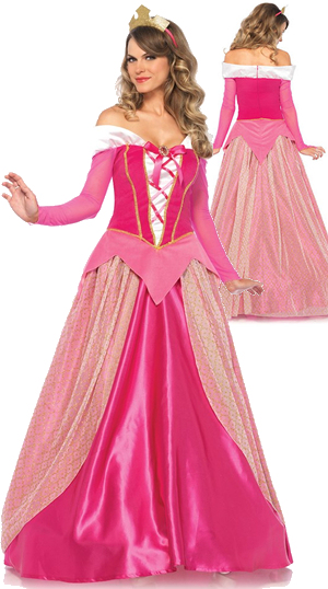 コスチューム LLA85612 Princess Aurora Costume 2pc