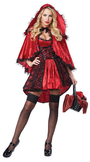 コスチューム LCC01300 Deluxe Red Riding Hood Costume