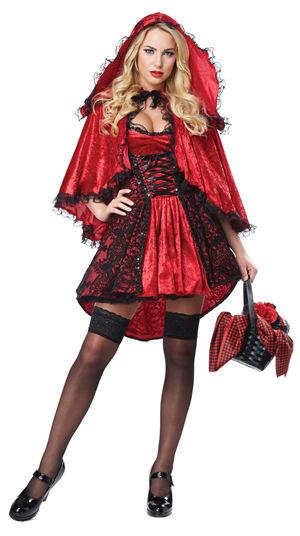 コスチューム LCC01300 Deluxe Red Riding Hood Costume