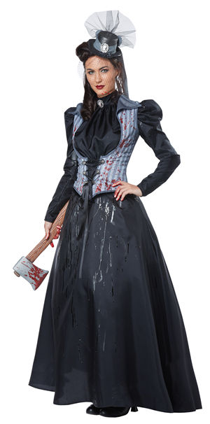 コスチューム LCC01386 Lizzie Borden/Axe Murderess Costume