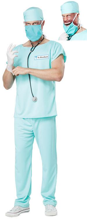 コスチューム LCC01399 Dr. Bloodbath Costume