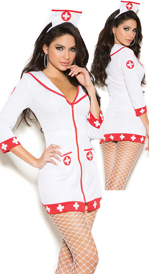 コスチューム LEM99001 Cardiac Arrest Nurse Costume