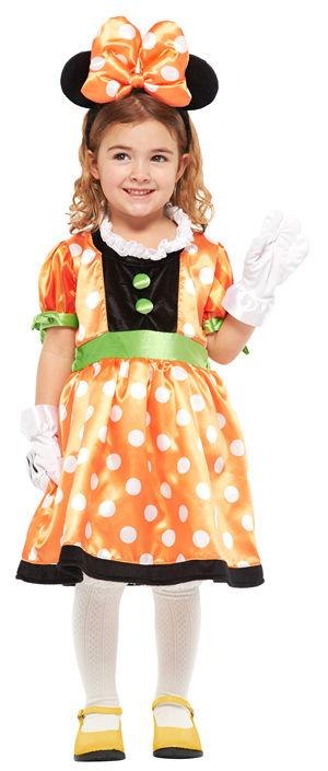 コスチューム JRU95846T Child Pumpkin Minnie - Tod