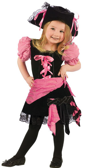 コスチューム LFU112181 Pink Punk Pirate Toddler Costume