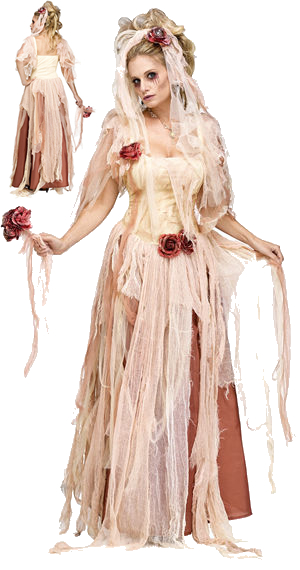 コスチューム LFU124614 Ghostly Bride Costume