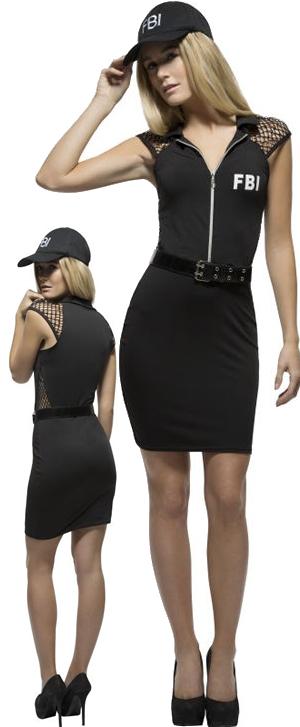 コスチューム LSY44535 Fever FBI Costume