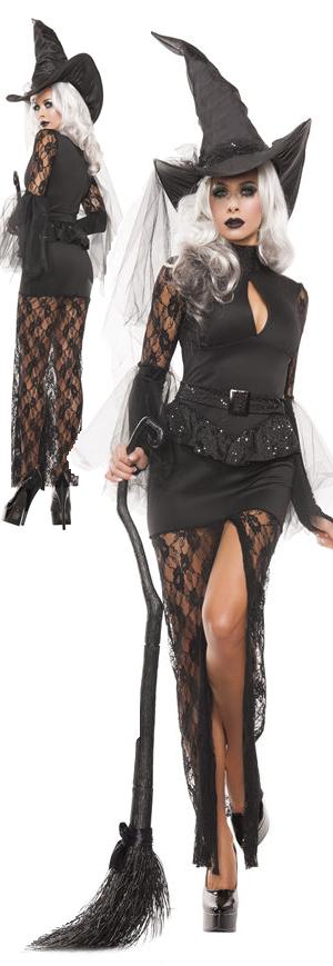 コスチューム LSNS5129 Glam Witch Costume